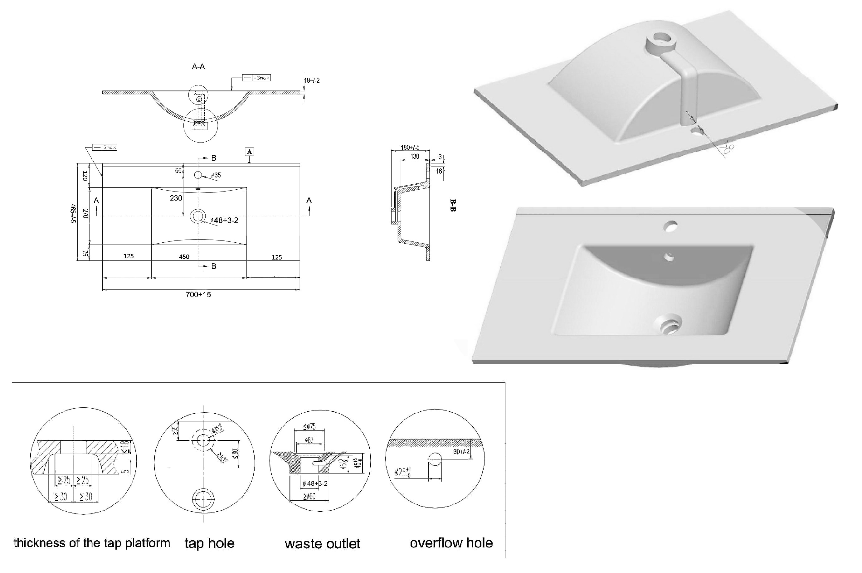 badm bel level 70 weiss hochglanz badm bel mit. Black Bedroom Furniture Sets. Home Design Ideas