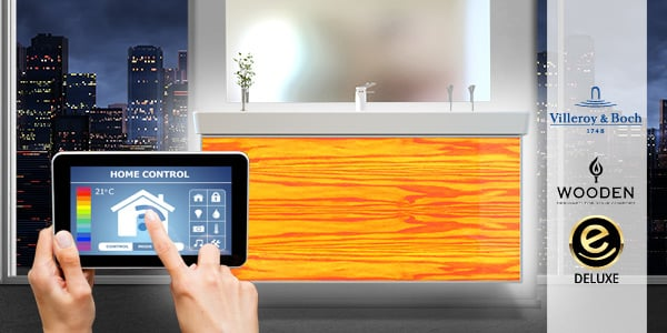 Smart home smart bad wohntrend intelligentes badezimmer for Badezimmer design app